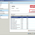 HIPIN - Update scherm met download knop